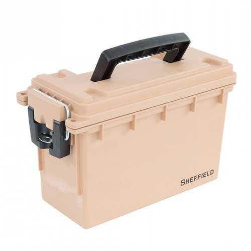 Sheffield Field Box- Coyote Tan (Made In U.S.A.)