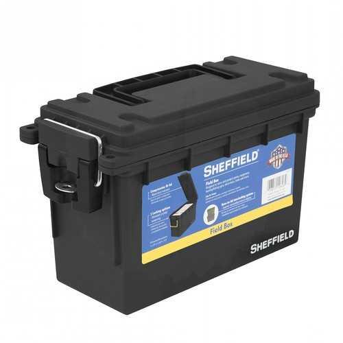 Sheffield Field Box- Black (Made In U.S.A.)