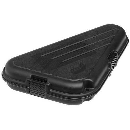 Plano Shaped Pistol Case   Large Black