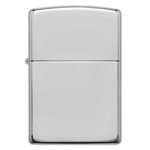 Zippo Windproof Lighter High Polish Sterling Silver Finish Classic Case
