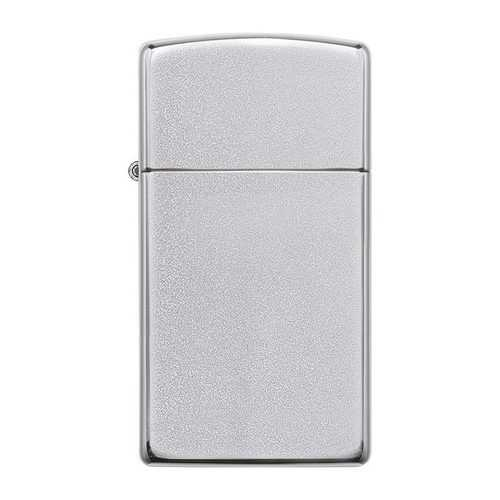 Zippo *1605* Windproof Lighter Slim Satin Chrome