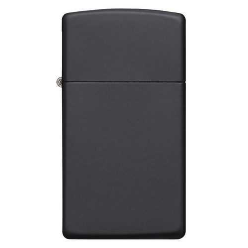 Zippo Windproof Lighter Slim Black Matte