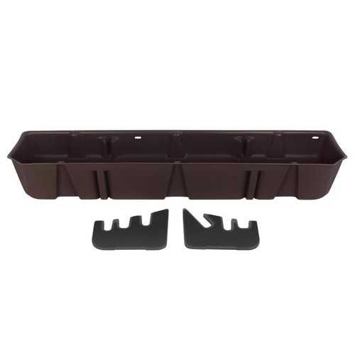 DU-HA Underseat Storage Gun Case 15-18 Ford Java Brown