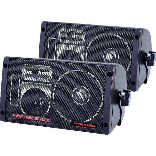 BOX SPEAKER PYRAMID 3-WAY BASS REFLEX
