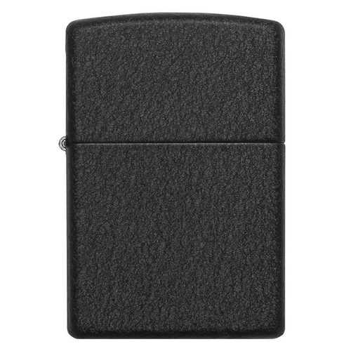 Zippo Windproof Lighter Black Crackle