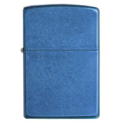 Zippo Windproof Lighter Cerulean (Translucent Coating)