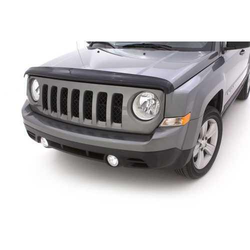Auto Vent Shade Bugflector II Dark Smoke Hood Shield for 2007-2018 Jeep Patriot