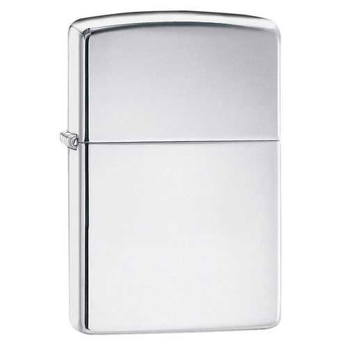 Zippo Windproof Lighter High Polish Chrome