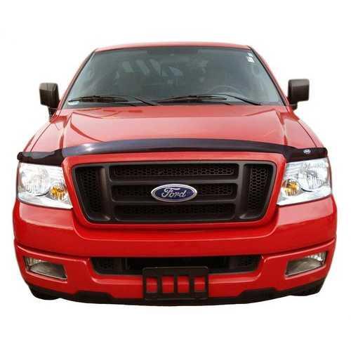 Auto Vent Shade Bugflector II Dark Smoke Hood Shield for 2004-2008 Ford F150 20062008 Lincoln Mark