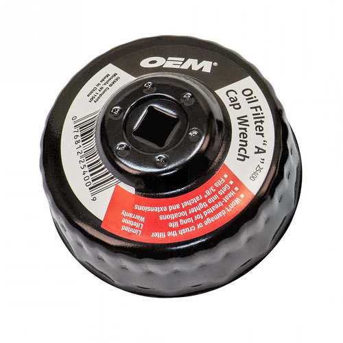 OEM Tools 25400 Oil Filter A Cap Wrench 74/76mm with 30 flutes