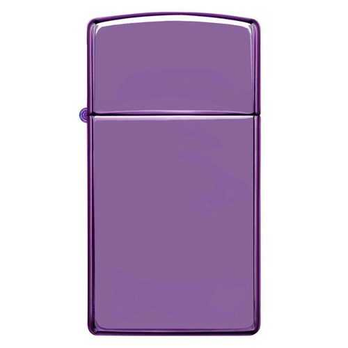 Zippo Windproof Lighter Abyss Finish Slim Case