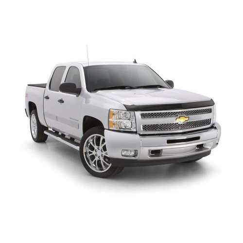 Auto Vent Shade Aeroskin Flush Mount Dark Smoke Hood Protector for 2015-2018 Chevrolet Colorado