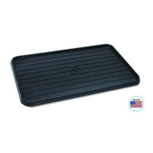 WirthCo 40098 Multi-Use Mat Boot Tray - Black