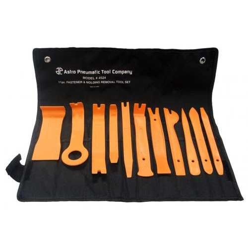 Astro  4524 Auto Fastener and Molding Removal Tool Set 11Piece