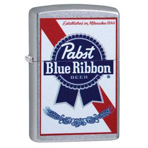 Zippo Windproof Lighter Pabst Blue Ribbon