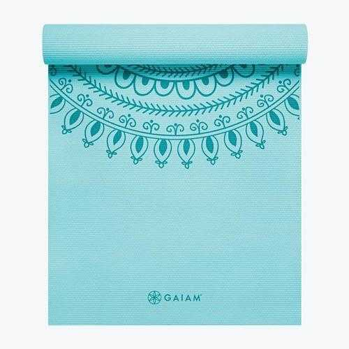 GAIAM PREMIUM MARRAKESH YOGA MAT 5MM BLUE