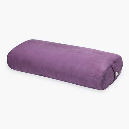 Gaiam Rectangular Bolster - Purple