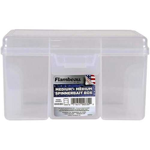 Flambeau Outdoors 00330 Medium Spinnerbait Box