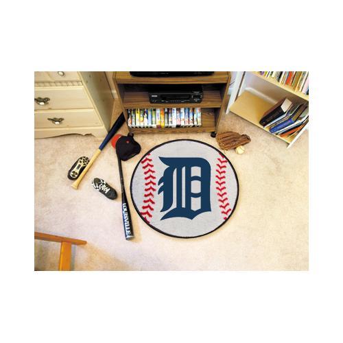 "Fanmat Detroit Tigers 27"" Baseball Mat"
