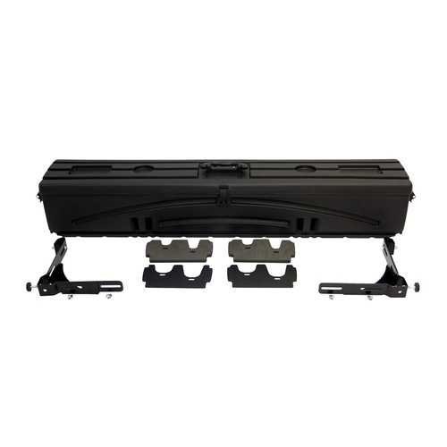 DU-HA 70200 Humpstor Truck Bed Storage UnitTool Box Gun Case Black