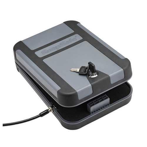 SNAPSAFE TREKLITE  LOCK BOX WITH KEY LOCK XL POLYCARBONATE