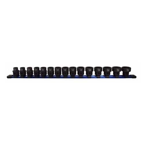 Astro  Tool 78215 Metric 1/2In Drive Low Profile Nano Impact Sockets 15 Piece