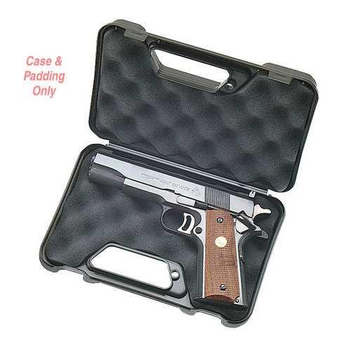 MTM Pistol Handgun Case Single up to 3 Inch Revolver Black