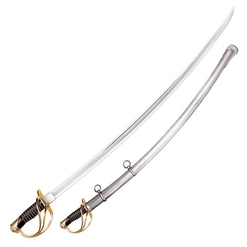COLD STEEL 1860 HEAVY CAVALRY SABER WITH STEEL SCABBARD