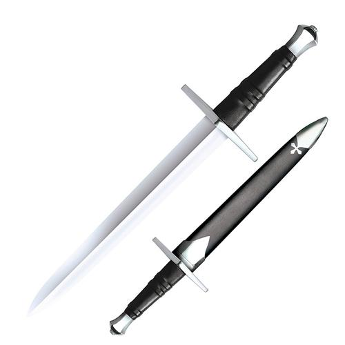 """COLD STEEL Hand-and-a-Half Dagger 14-1/4"""" Carbon Steel Blade"""