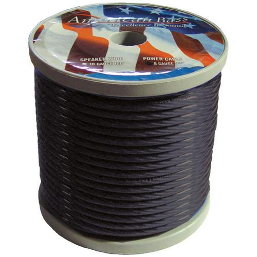 American Bass *AB665BK* Power Wire 8 Gauge 100 Foot - Black
