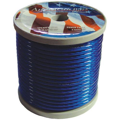 American Bass *AB665BLUE* Power Wire 8 Gauge 100 Foot - Blue