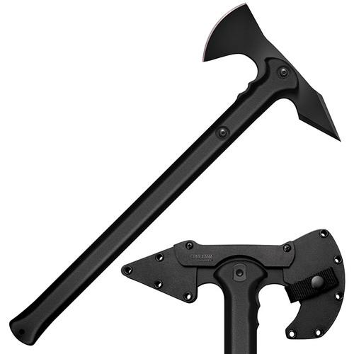 """Cold Steel Trench Hawk Drop Forged Combat Tomahawk 19"""" Overall with Sheath"""