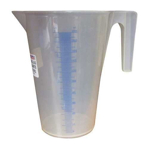 WirthCo 94140 Funnel King 2 Quart General Purpose Graduated Measuring Container