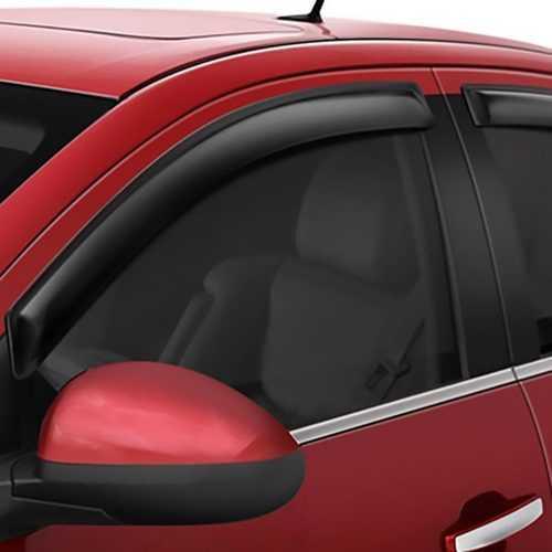 Auto Vent Shade Ventvisor 4Pc Window for Hyundai Elantra 2011-2016 (SMOKE)