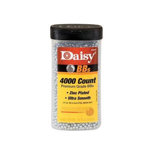 Daisy .177 Caliber BB's 4.5Milimeter 4000Count