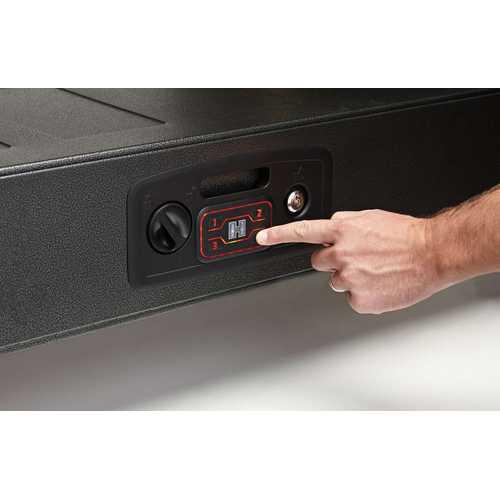 Hornady 98190 Rapid Safe AR Gunlocker RFID