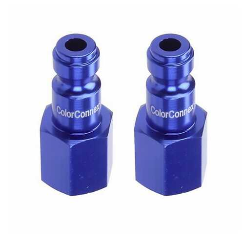 ColorConnex Female Plug Kit 2-Pack (Blue)