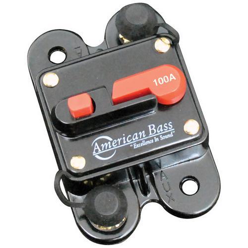 American Bass 100A Circuit Breaker Blister Pack