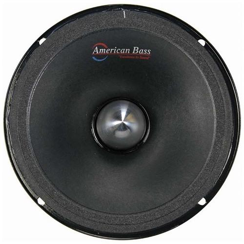 "American Bass 6.5"" Midrange (Each) with Grill & Neodymium Magnet 4 Ohm"