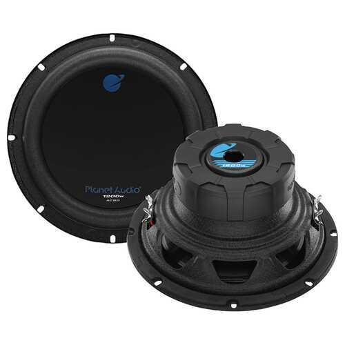 "Planet 8"" DVC Woofer  1200W MAX 4 Ohm"