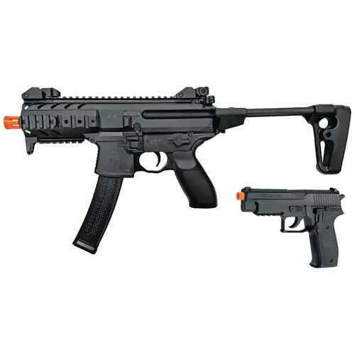 Sig Sauer MPX - P226 6mm Airsoft Combo Kit (Spring Operated)