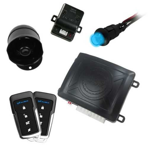 Excalibur 1 Way Keyeless entry & security system