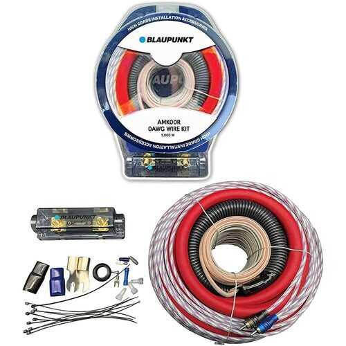 Blaupunkt 0-Gauge Complete Amplifier Wire Kit