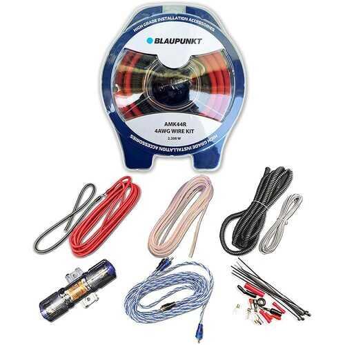 Blaupunkt 4-Gauge Complete Amplifier Wire Kit