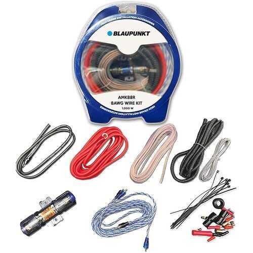 Blaupunkt 8-Gauge Complete Amplifier Wire Kit