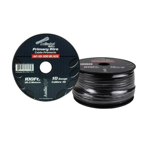 Audiopipe 10 Gauge 100Ft Primary Wire Black