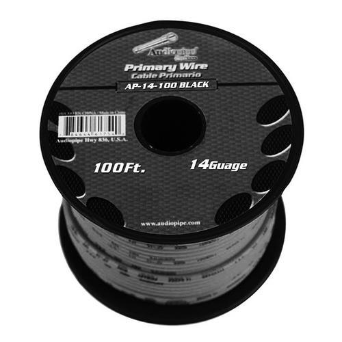 Audiopipe 14 Gauge 100Ft Primary Wire Black