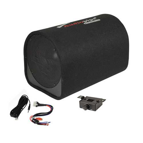 "Audiopipe 10"" Single ported bass enclosure 500W"