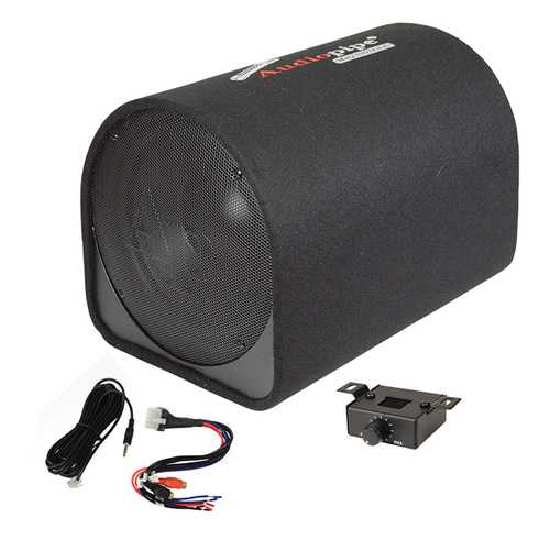 "Audiopipe 12"" Single ported bass enclosure600W"