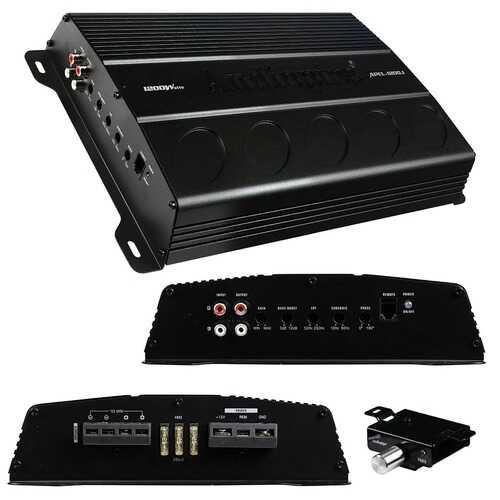 Audiopipe Mono Block Amplifier 1200 Watts